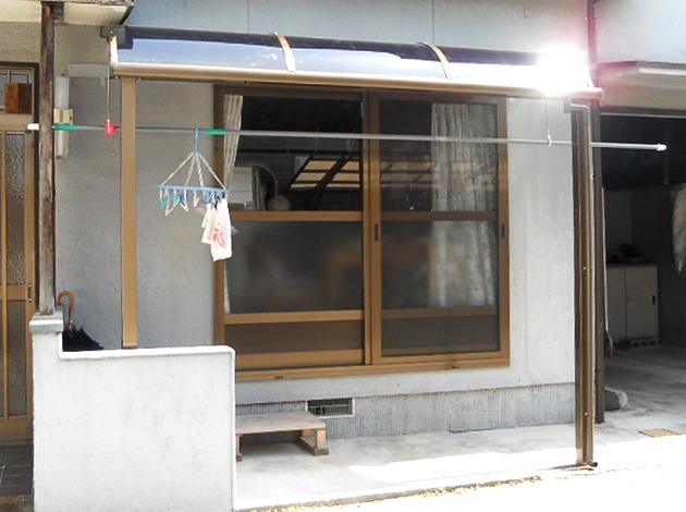 洗濯物干しに大活躍!LIXILの「サンクテラスⅡ」で大満足リフォーム! 奈良市K様邸