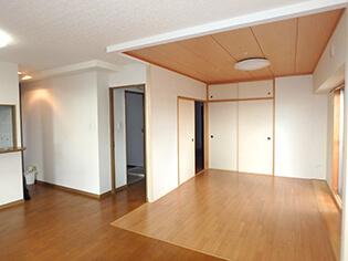 畳からフローリングに!開放的な広々空間マンションリフォーム! 奈良市N様邸
