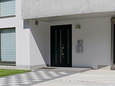 玄関アプローチの外構工事