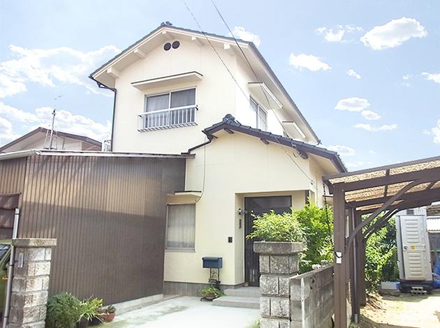 劣化の激しいセメント瓦屋根、職人のこだわりで美しく変身!!屋根・外壁塗装リフォーム! 奈良市N様邸