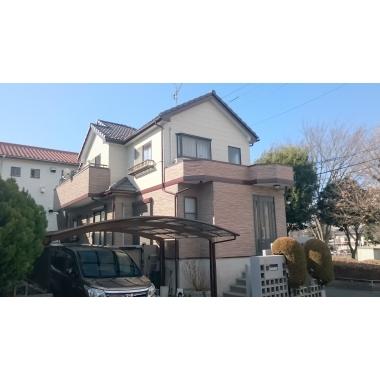 外壁塗装とともに塀の塗り替えも満足リフォーム 生駒市O様邸