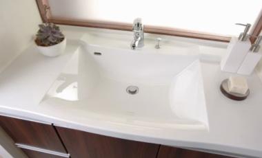 洗面台施工取り替え交換格安リフォーム工事奈良県