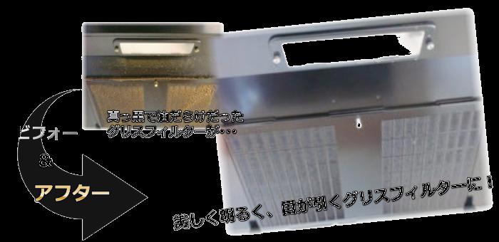奈良県のハウスクリーニングのビフォーアフター