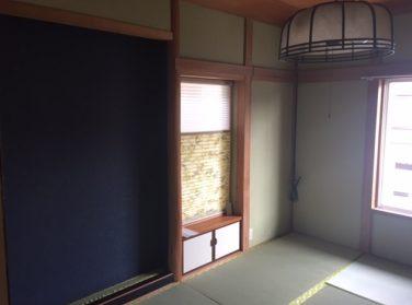 和室の内装工事! 奈良市K様邸