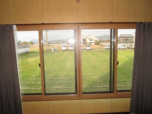 断熱窓で、底冷え解消 生駒郡平群町B様邸