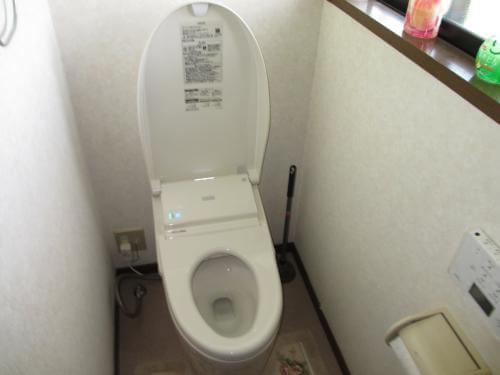 節水タンクレス便器に交換 生駒郡三郷町R様邸