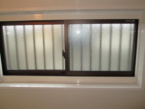 浴室サッシをFIX窓から引き違い窓に交換 奈良市U様邸