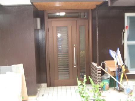 玄関ドアリフォームでミラクルチェンジ! 生駒郡三郷町K様邸