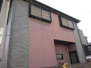 鮮やかなピンクの外観!外壁塗装リフォーム! 大和郡山市R様邸