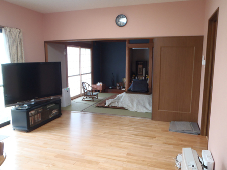 2階の間取りを変えてトイレと洗面所を設置 生駒郡斑鳩町E様邸