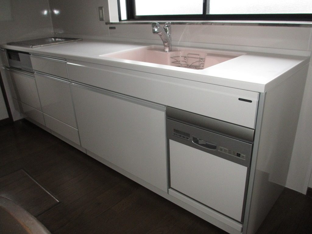 食洗機付き!たっぷり収納!キッチン交換リフォーム! 生駒郡平群町C様邸