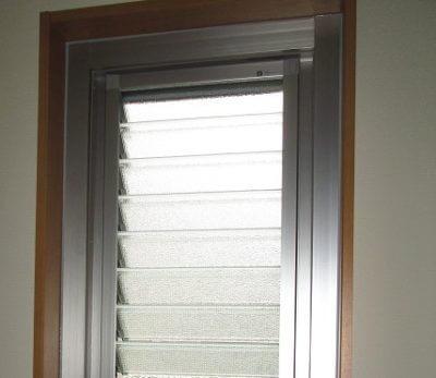 ルーバー窓へ交換で雨の吹き込みの心配無し! 生駒郡安堵町J様邸