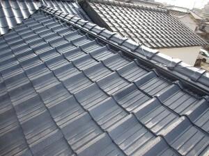 ウレタン塗装で新築の様な屋根になりました! 生駒郡平群町H様邸
