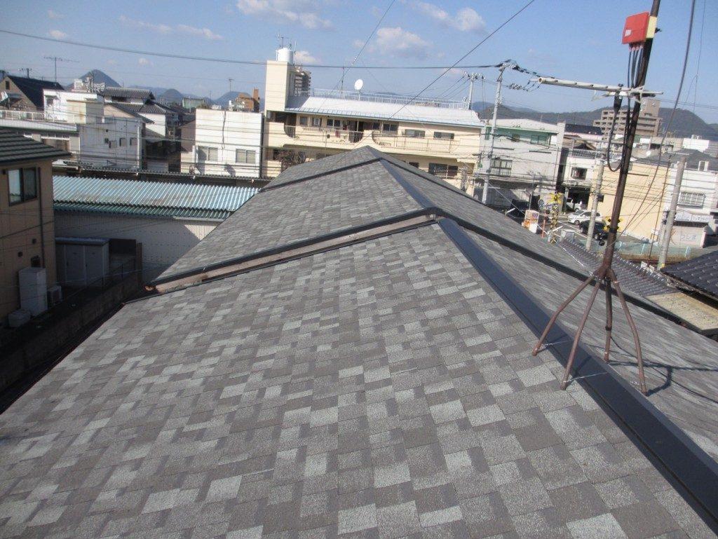 これで入居者も安心! 借家3棟の屋根工事! 奈良市M様邸