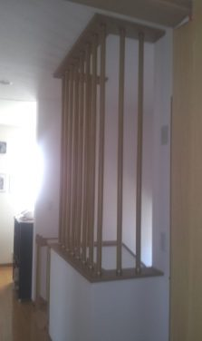 落下防止のための窓の手摺と階段の格子を設置 奈良県奈良市S様邸