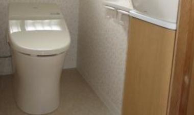 1Fは和→洋トイレ、2Fはコンパクトトイレへ交換!