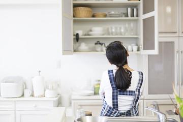 キッチンの「奥行き」は、作業スペースや収納量を踏まえたサイズに!