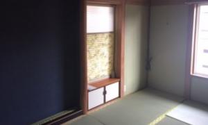 和室の内装工事!