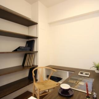 書斎スペースを作りました。