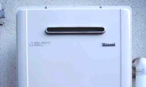 高効率給湯器エコジョーズでのリフォーム