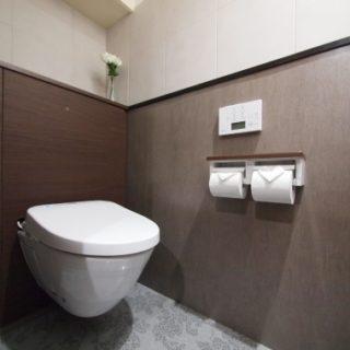 フロートタイプのトイレは掃除が楽です