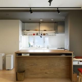 収納できるように完全オリジナルキッチン