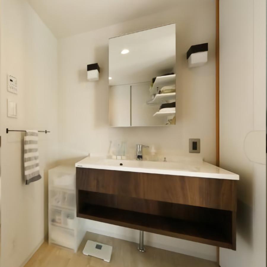 おしゃれなデザインのPanasonicのCライン洗面所