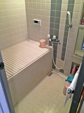 風呂の施工前
