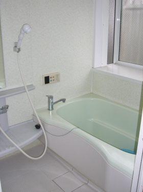 施工前の風呂