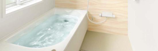 FRP製浴槽のシステムバスにする