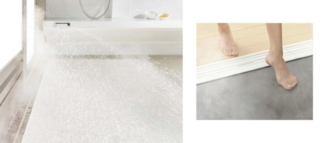 床夏シャワー